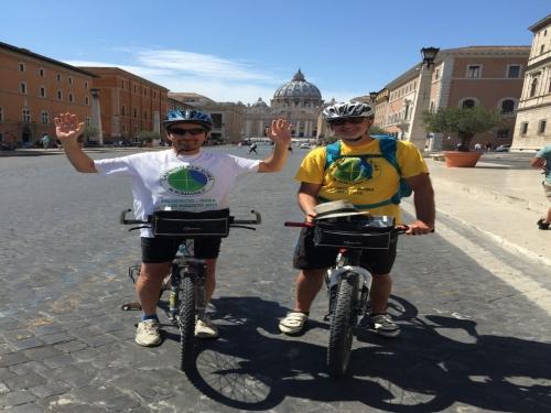 Cammino da Rimini a Roma in Bici